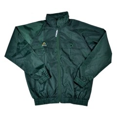 Henselite Rainwear Jacket - Unlined Elastic Bottle Green