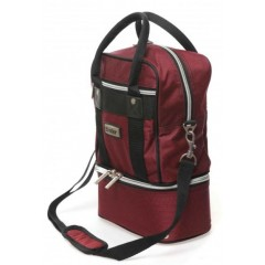 Hunter 310 2 Bowl Carry Bag Burgundy
